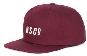 Herschel Men's 'Mosby' Snapback Baseball Cap - Burgundy