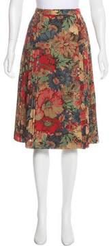 Cacharel Printed Wrap Skirt