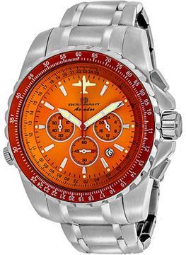 Oceanaut Aviador Pilot OC0115 Men's Stainless Steel Chronograph Watch