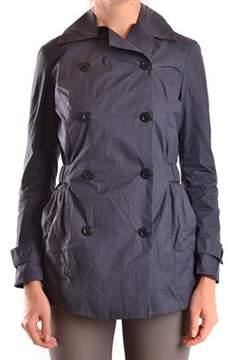 Brema Women's Blue Polyamide Trench Coat.