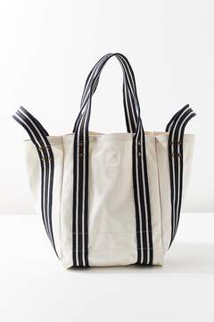 Urban Outfitters Striped Multi-Strap Tote Bag