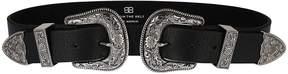 B-Low the Belt B Low The Belt Engraved Double Buckle Belt