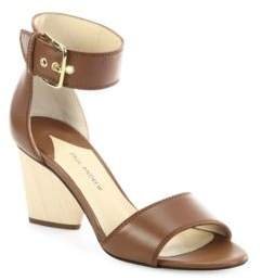Paul Andrew Tindra 75 Leather Ankle-Strap Sandals