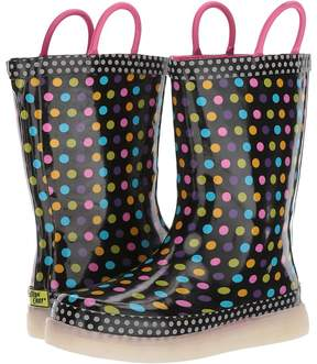 Western Chief Diva Dot LED Rain Boots Girls Shoes