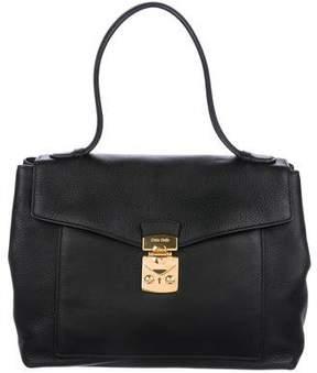 Miu Miu Leather Flap Bag