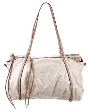 MZ Wallace Leather-Trimmed Coated Bag
