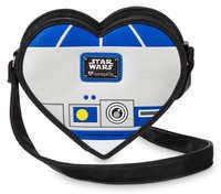 Disney R2-D2 Heart-Shaped Crossbody Bag by Loungefly - Star Wars