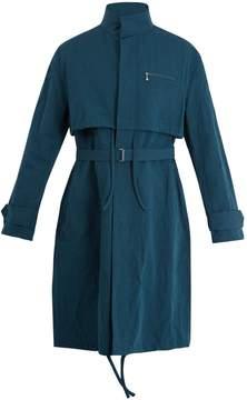 Acne Studios Mali cotton and linen-blend overcoat