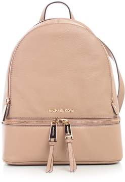 MICHAEL Michael Kors Rhea Zip Md Backpack Pale Gold
