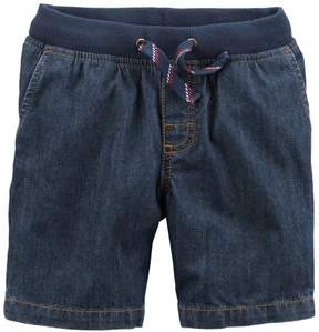 Carter's Toddler Boys Pull-On Denim Dock Shorts