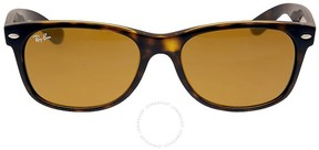 Ray-Ban New Wayfarer Classic Sunglasses - Tortoise/Brown RB2132 710 55