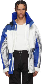 Helly Hansen GmbH Blue and White Edition Jeenu Anorak Coat