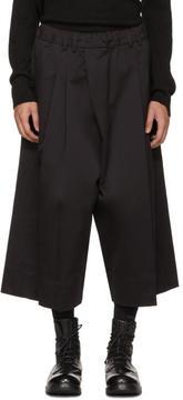 Isabel Benenato Black Skirt Shorts