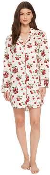 BedHead Long Sleeve Classic Nightshirt Women's Pajama