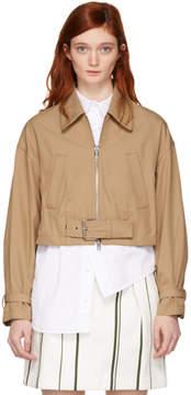 3.1 Phillip Lim Beige Utility Belted Jacket