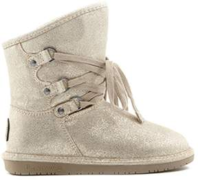 BearPaw Colby Suede Lace-Up Boot with NeverWet
