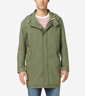 Cole Haan Pinch Washed Cotton Parka