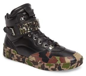 Moschino Men's High Top Sneaker