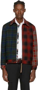Loewe Multicolor Tartan Patchwork Jacket