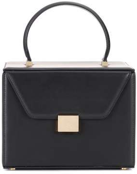 Victoria Beckham Vanity Box leather tote