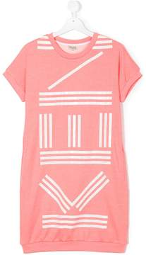 Kenzo logo print long T-shirt