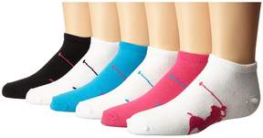 Polo Ralph Lauren Big Polo Player Low Cut 6-Pack Women's Low Cut Socks Shoes