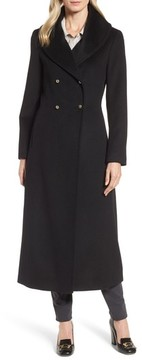 Donna Karan Women's Dkny Wool Blend Felt Shawl Collar Coat