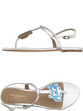 Anya Hindmarch Toe strap sandals