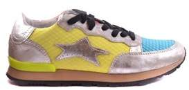 Ishikawa Women's Multicolor Leather Sneakers.