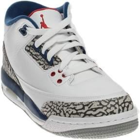Nike Boys Air Jordan 3 Retro OG BG 'True Blue' 854261-106 Size 4Y