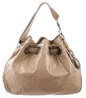 Christian Dior Cannage Drawstring Bag
