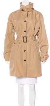Aquascutum London Long Sleeve Button-Up Jacket
