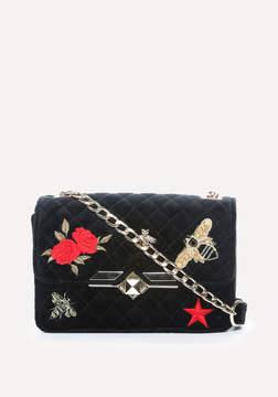 Bebe Dalia Embroidered Bag