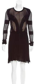 Dagmar Open Knit Mini Dress