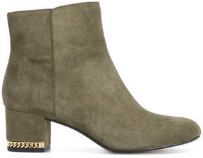 MICHAEL Michael Kors chain block heel ankle boots
