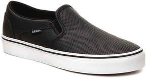 Vans Women's Asher Perforated Slip-On Sneaker - Women's's