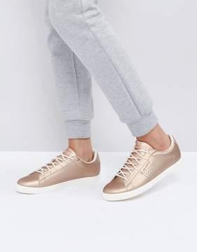 Le Coq Sportif Rose Gold Metallic Agate Lo Sneakers
