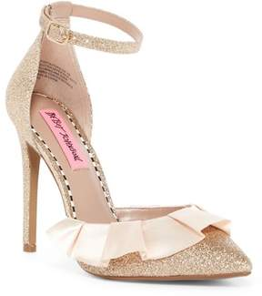 Betsey Johnson Portia Ankle Strap Heel