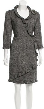 Chanel Silk-Blend Tweed Dress
