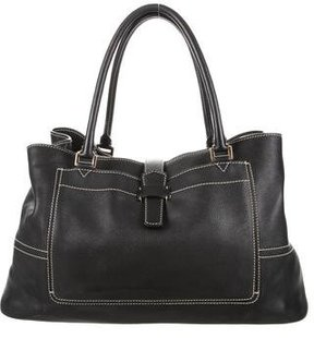 Loro Piana Leather Bellevue Bag