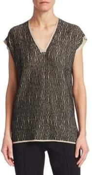 Akris Knit Linen Tunic