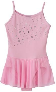 Jacques Moret Girls 4-14 Pink Cami Skirtall Leotard
