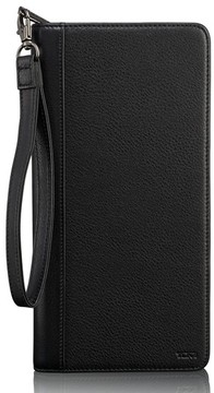 Tumi Men's Leather Zip Wallet - Black