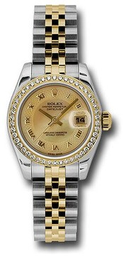 Rolex Lady Datejust Champagne Mother of Pearl Dial Automatic Watch