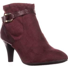 Karen Scott Ks35 Maxinee Almond-toe Ankle Booties, Wine.