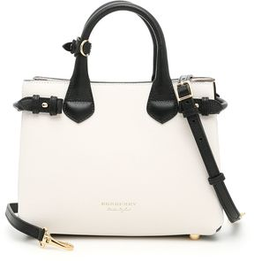 Burberry Small Banner Bag - NATURAL|BIANCO - STYLE
