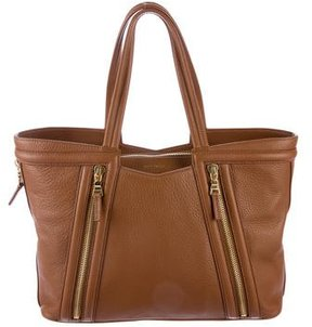 Etro Pebbled Calf Leather Tote