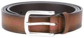 Orciani crocodile effect belt
