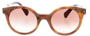 Alexander McQueen Tinted Cat-Eye Sunglasses