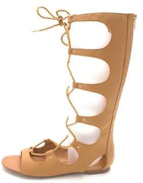 Bar III Womens Rayanne Open Toe Casual Gladiator Sandals.